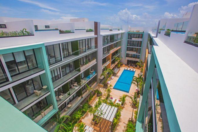 Departamentos en Playa del Carmen desde $280,000 USD