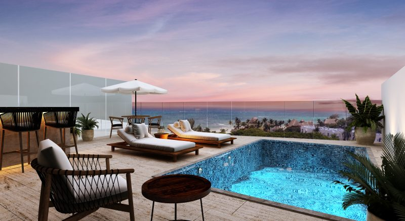 Departamentos en Playa del Carmen desde $440,000 USD